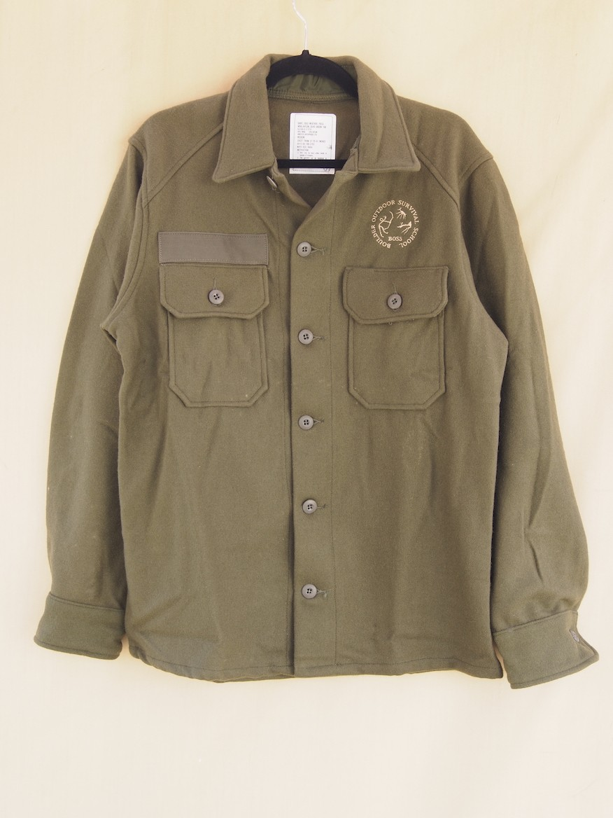 Wool Army Shirt