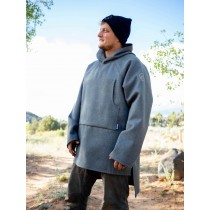Wool Hooded Pullover